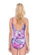 Gottex Felicity Purple Surplice One Piece Swimsuit