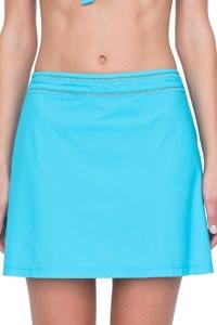 Gottex Finesse Aqua Cover Up Side Slit Skirt