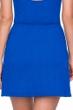 Gottex Jazz Sapphire Textured Cover Up Side Slit Skirt