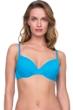 Gottex Jazz Turquoise Textured Push Up Underwire Bikini Top