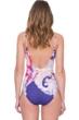 Gottex Kashmir V-Neck Lingerie Underwire One Piece Swimsuit
