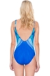 Gottex Mystic Gem Square Neck High Back One Piece Swimsuit