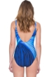 Gottex Northern Lights Mock Surplice One Piece Swimsuit