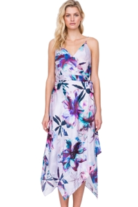 Gottex Primrose V-Neck Wrap Dress