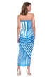 Gottex Sinatra Azure Caftan One Size Fits All