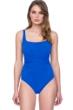 Gottex Vista Blue Square Neck One Piece Swimsuit
