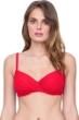 Gottex Vista Red Surplice Underwire D-Cup Bikini Top