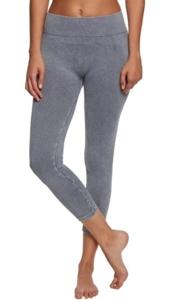 Onzie Slate Grey Seamless Stonewash Legging