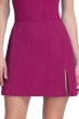 Gottex Essentials Cosmos Cherry Textured Cover Up Side Slit Skirt