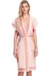 Gottex Collection Paradise Peach Kimono with Belt