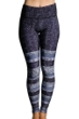 Onzie Textured Stripe Graphic Legging