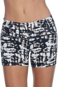 Body Glove Sport Black/White Get Shorty Active Short