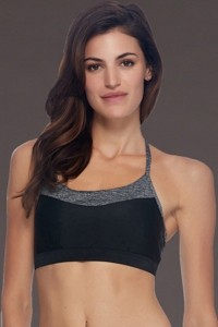 Body Glove Sport Black Lotus Medium Impact Sports Bra