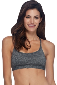 Body Glove Sport Grey Axis Light Impact Sports Bra