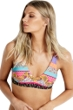 Seafolly Caribbean Kool Tie Back Bralette Bikini Top