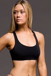 Onzie Black Chic Low Impact Sports Bra