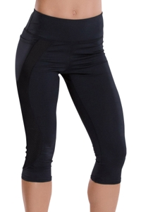 TLF Apparel Prima Black Moonlit Capri