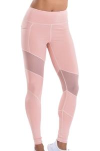 TLF Apparel Prima Blush Mesh Panel Margoux Legging