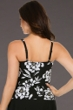 Miraclesuit Awesome Blossom Arianna Lace Front Tankini Top