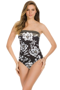 Miraclesuit Awesome Blossom Avanti Underwire One Piece Swimsuit