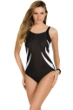 Miraclesuit So It Seams Blades Underwire One Piece Swimsuit