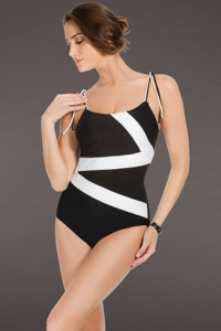 Miraclesuit So It Seams Zigzag Underwire One Piece Swimsuit