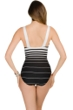 Miraclesuit Right Down the Line Square Neck Underwire One Piece Swimsuit