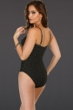 Miraclesuit Pin Point Mystify Mesh Inset Underwire One Piece Swimsuit