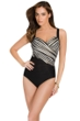 Miraclesuit Barcode Sanibel Underwire One Piece Swimsuit
