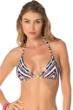 Becca by Rebecca Virtue Artisan Triangle Halter Bikini Top