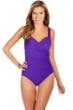 Miraclesuit Violet DD-Cup Sanibel Underwire One Piece Swimsuit