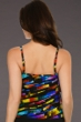 Miraclesuit Color Code DD-Cup Tiering Up Tankini Top