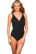 Miraclesuit Black DDD-Cup Oceanus One Piece Swimsuit