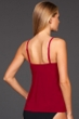 Magicsuit Vamp Red Jaclyn Underwire Tankini Top