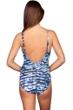 Magicsuit Blurred Lines Kat Keyhole High Neck One Piece Swimsuit