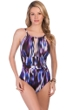 Magicsuit Woodstock Katrina Keyhole High Neck One Piece Swimsuit