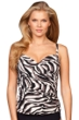 Magicsuit Safari Edie Underwire Tankini Top