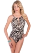 Magicsuit Safari Katrina Keyhole High Neck One Piece Swimsuit
