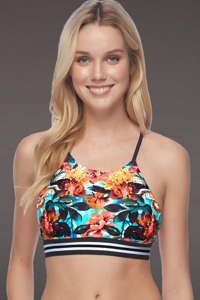 Body Glove Wonderland Elena High Neck Bikini Top