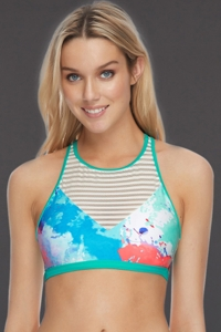 Body Glove Dreams Fearless High Neck Bikini Top