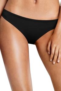 Seafolly Solid Black Hipster Bikini Bottom