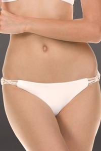 Isabella Rose Low Tide Ivory Bondi Bikini Bottom