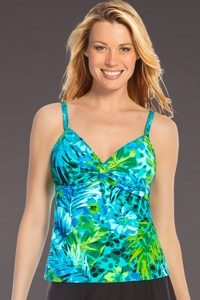 Miraclesuit Junglemania Roswell Underwire Tankini Top