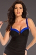 Miraclesuit Royal Colorblock Arianna Underwire Tankini Top