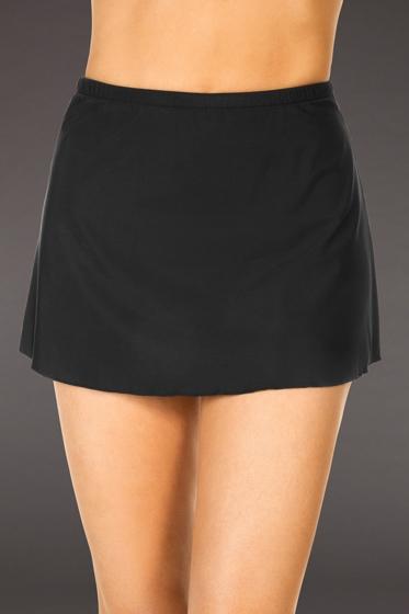 Miraclesuit Black Swim Skirt