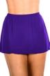 Miraclesuit Eggplant Swim Skirt
