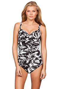 Miraclesuit Silver Show Arianna One Piece Swimsuit
