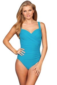 Miraclesuit Lagoon Sanibel D-Cup Underwire One Piece Swimsuit