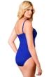 Miraclesuit Blue Plus Solid Rialto One Piece Swimsuit
