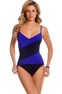 Magicsuit Twilight Colorblock Lynn One Piece Swimsuit